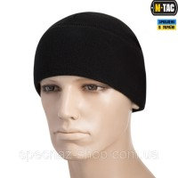 M-TAC ШАПКА WATCH CAP ELITE ФЛИС (260Г/М2) WITH SLIMTEX BLACK