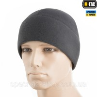 M-TAC ШАПКА WATCH CAP ELITE ФЛИС (260Г/М2) WITH SLIMTEX DARK GRAY