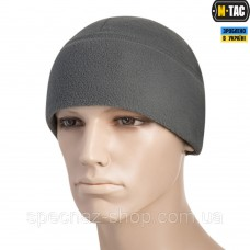 M-TAC ШАПКА WATCH CAP ELITE ФЛИС (260Г/М2) WITH SLIMTEX GRAY
