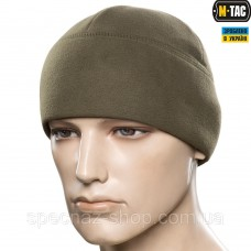 M-TAC ШАПКА WATCH CAP ELITE ФЛИС (260Г/М2) WITH SLIMTEX ARMY OLIVE