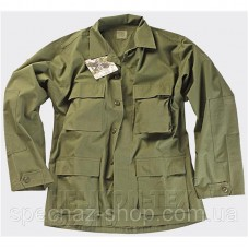 Helikon-Tex Китель BDU - Cotton Ripstop - олива (H41190-02)