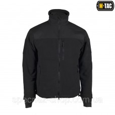 M-TAC КУРТКА ALPHA MICROFLEECE JACKET BLACK