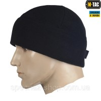 M-Tac шапка Watch Cap флис (260г/м2) with Slimtex черная
