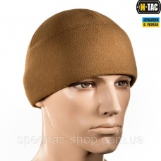 M-TAC ШАПКА WATCH CAP ФЛИС (260Г/М2) WITH SLIMTEX COYOTE BROWN