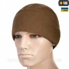 M-TAC ШАПКА WATCH CAP ФЛИС/СЕТКА WINDBLOCK 380 COYOTE BROWN