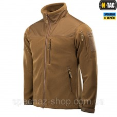 M-TAC КУРТКА ALPHA MICROFLEECE GEN.II COYOTE BROWN