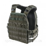 Velmet Бронежилет (чохол) Plate Carrier Perun 4 SF Ranger Green
